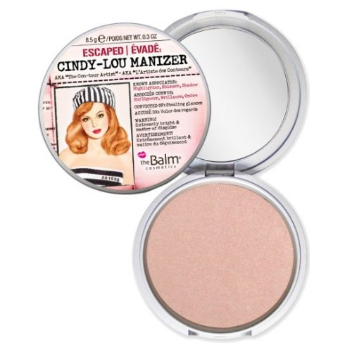 (6 Pack) theBalm Cindy Lou Manizer Highlighter, Shadow & Shimmer Peachy Pink