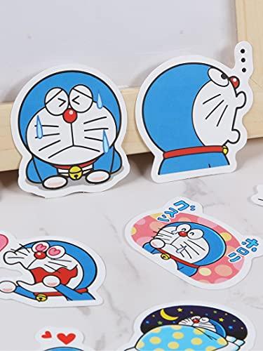 DONGJI Doraemon Suitcase Sticker Bag ins Wind Waterproof Cartoon Cute Suitcase Laptop Hand Account Sticker