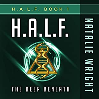 H.A.L.F.: The Deep Beneath audiobook cover art