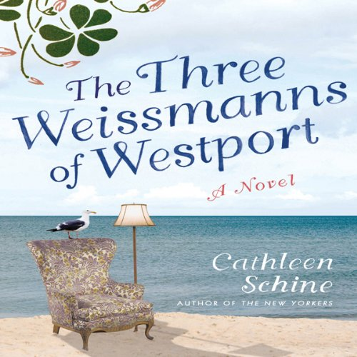 The Three Weissmanns of Westport audiobook cover art
