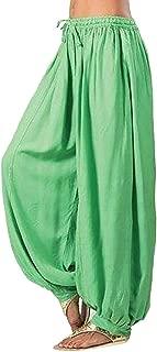 🍀Women Pants Women Plus Size Solid Color Casual Loose Harem Pants Yoga Pants Women