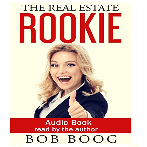 The Real Estate Rookie audiobook cover art