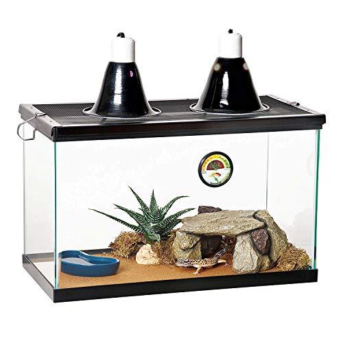 Zilla Reptile Starter Kit 10 with Light and Heat, Desert
