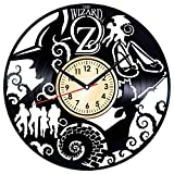 The Wizard of OZ Vintage Vinyl Wall Clock - Great Home Decor for Bedroom Kitchen Living Room Idea Birthday Christmas Anniversary for Him Her - Unique Wall Art - Size 12 Inches