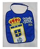 R.OVIEDO Real Oviedo Babero - Azul, 025x030 cm.