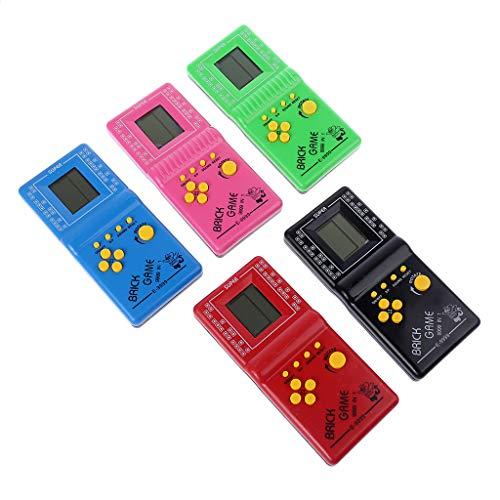 VAILANG LCD Game Electronic Vintage Classic Tetris Brick Han