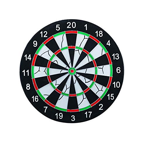TWW Fliegende Standard-Dartscheibe Set Nach Hause Professionelles Spiel Spielzeug Kinder Dart Ziel Soft Dart Indoor Entertainment Dartscheibe,Dart Board + 6 Darts