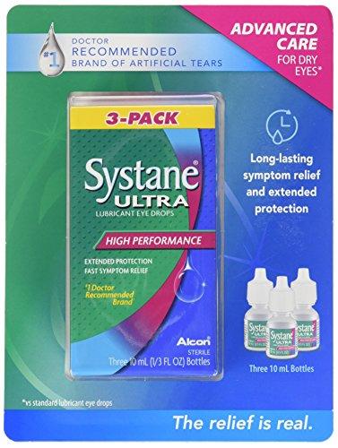 Systane Ultra Lubricant Eye Drops, 30 ml.