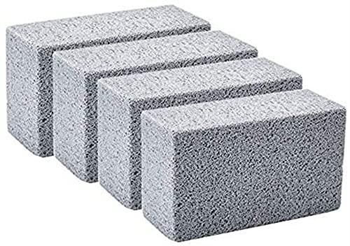 ASY 4 Piezas De Limpieza De Ladrillo Piedra Pómez Parrilla Piedra Pómez Piedra Pómez Bloque De Limpieza para Limpiar Parrillas Sartenes Ecológico Inodoro Limpiador De Piedra