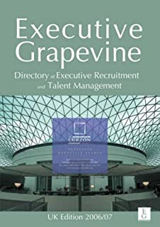 UK Directory of Executive Recruitment and Talent Management
