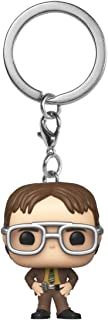 Funko Pop! Keychain: The Office - Dwight Schrute,Multicolor,2 inches