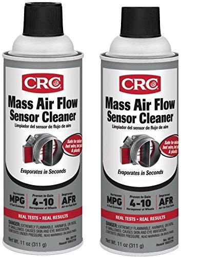 CRC 05110- Mass Air Flow Sensor Cleaner, 11 fl. oz, (2)