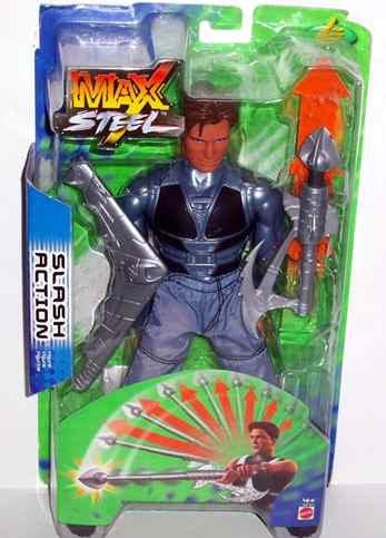 Mattel N-Tek Max Steel Slash Action Figure