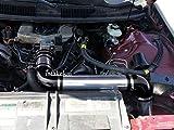 PERFORMANCE COLD AIR INTAKE KIT FOR 1993-1995 CHEVROLET CAMARO PONTIAC FIREBIRD 3.4 3.4L V6 ENGINE (BLACK)