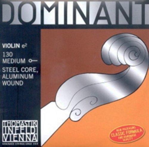 CUERDAS VIOLIN - Thomastik (Dominant 130) (Nylon/Aluminio) 1ª (Mi) Medium Violin 4/4