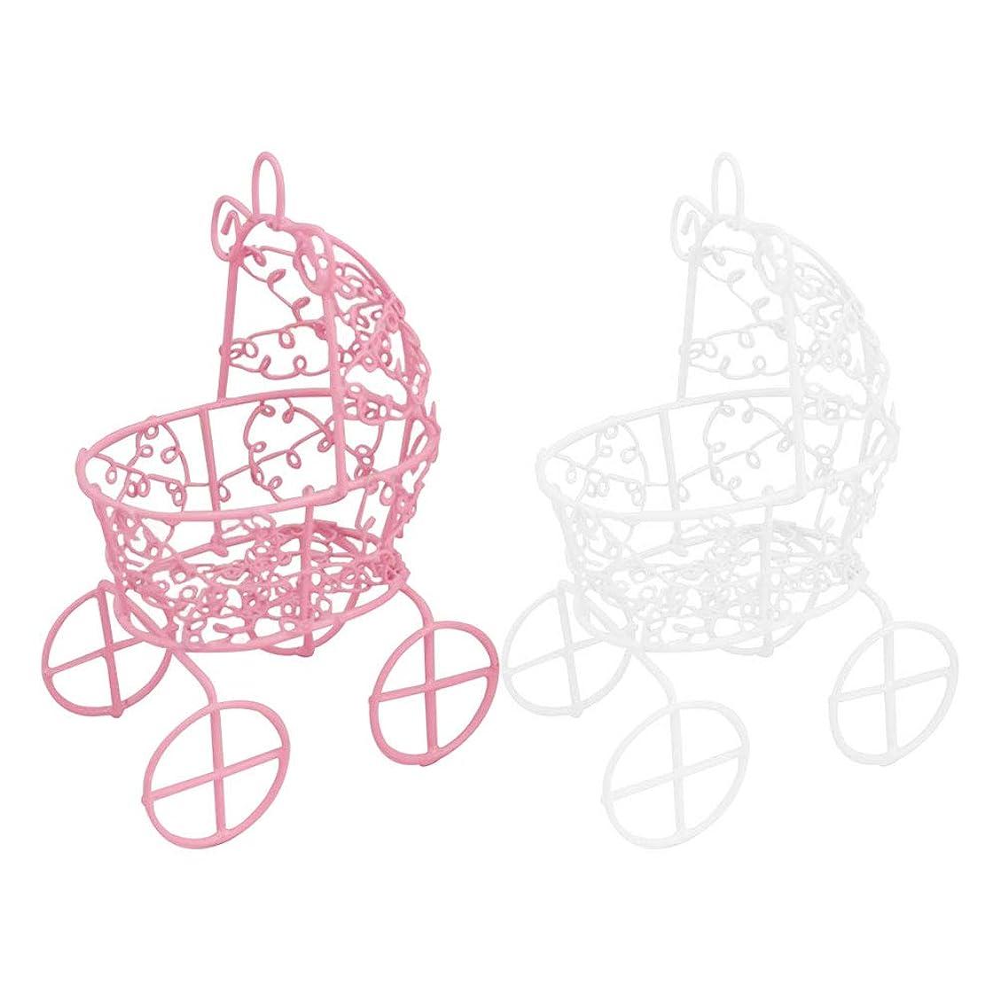 ノベルティコミュニティ群集Frcolor メイクスポンジスタンド パフホルダー パフ乾燥用スタンド 化粧用パフ收納 カビ防止 小型軽量 2色セット(ピンク+ホワイト)