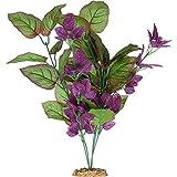 Petco Brand - Imagitarium Purple Cluster Silk Aquarium Plant, Large