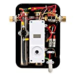Eemax eem24013 electric tankless water heater, blue 9 tank less water heaters provide a continuous supply of hot water and only heats the water you need, when you need it instant, consistent and endless hot water the most advanced, self-modulating technology available, meaning the unit will adjust how much energy needs to be input based on how much hot water is needed