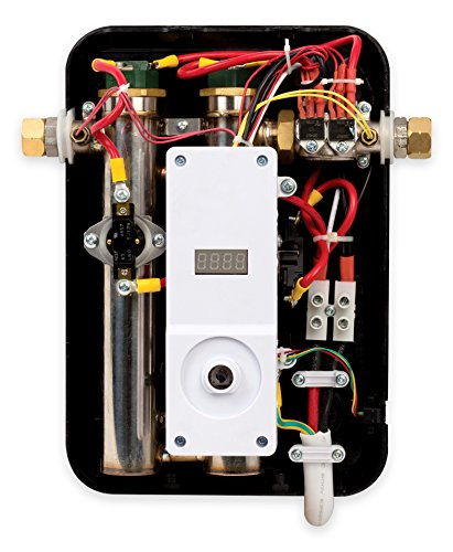 Eemax eem24013 electric tankless water heater, blue 3 tank less water heaters provide a continuous supply of hot water and only heats the water you need, when you need it instant, consistent and endless hot water the most advanced, self-modulating technology available, meaning the unit will adjust how much energy needs to be input based on how much hot water is needed