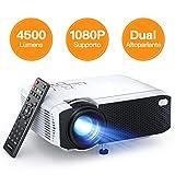 Proiettore APEMAN 4500 Lumen Mini Videoproiettore Portatile Doppio...