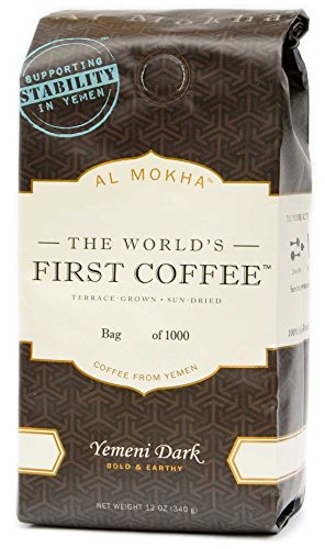 Al Mokha: The World's First Coffee. Yemen Dark Roast (whole bean)
