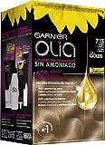 Garnier Olia - Coloración Permanente sin Amoniaco, con Aceites Florales de Origen Natural - Tono 7.13 Rubio Canela