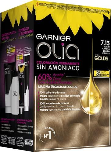 Garnier Olia - Coloración Permanente sin Amoniaco, con Aceites Florales