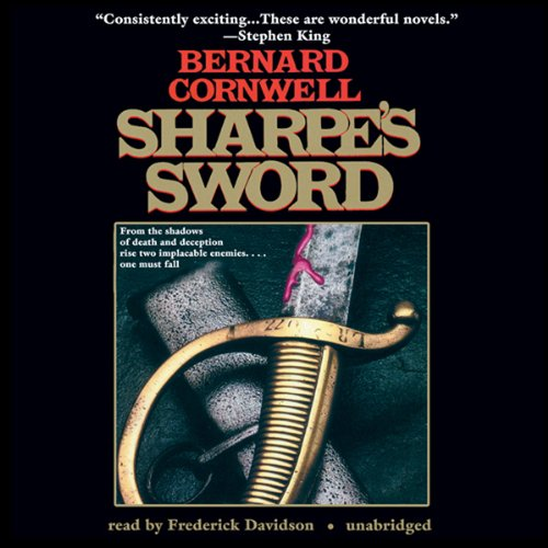 Sharpe's Sword Audiobook By Bernard Cornwell cover art