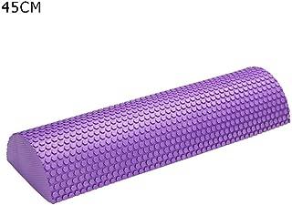 Foam Roller Yoga Foam Roller 30-45cm semi-Circular Massage EVA Foam Shaft Yoga Pilates Fitness Equipment with Massage Floating Point High Density Foam Roller Massager
