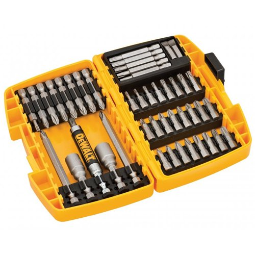 DeWalt DT71518-QZ - Conjunto de 45 piezas para atornillar tipo Tough Case. Puntas de atornillar de Tipo Tough Case
