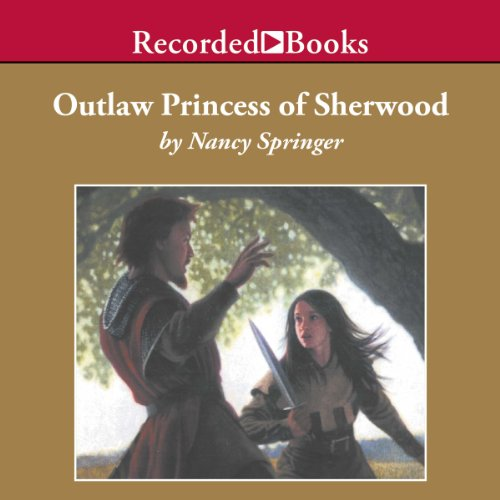 Outlaw Princess of Sherwood audiobook cover art