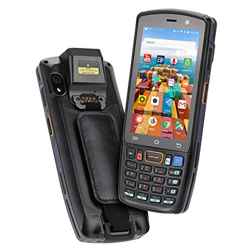MUNBYN Android Scanner, Android 9.0 Scanner, 2D SE4710 Zebra Scanner, IP67 Rugged Android Scanner, WiFi, Bluetooth Android Barcode Scanner, 4G Mobile Android Scanner Handheld for Inventory Warehouse