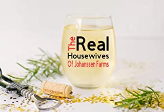 21 Ounce Stemless Wine Glass Real Housewives