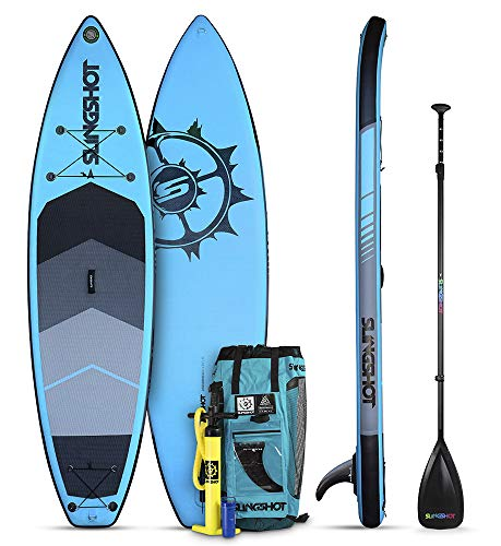 Slingshot Sports Crossbreed Airtech Inflatable SUP - Blue