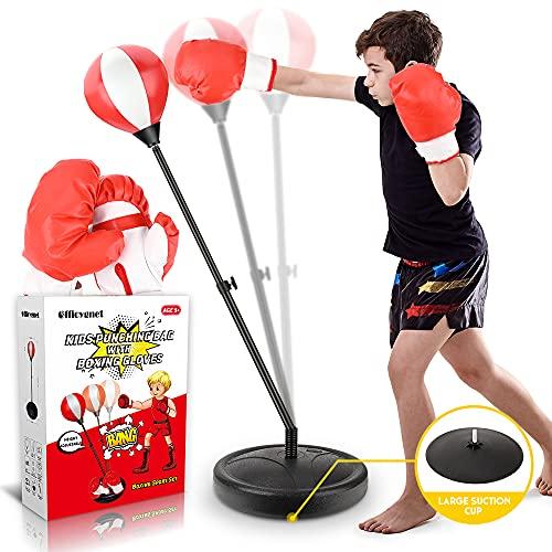 Punching Bag for Kids, Boxing Bag Set for Age 4, 5, 6, 7, 8, 9, 10...