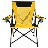 Kijaro  Dual Lock Portable Camping and Sports Chair (Renewed)