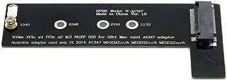 Apple Mac Mini 2014 A1347 MEGEN2 MEGEM2 MEGEQ2用 M.2 NGFF M-Key NVME SSD 増設キット アダプタ
