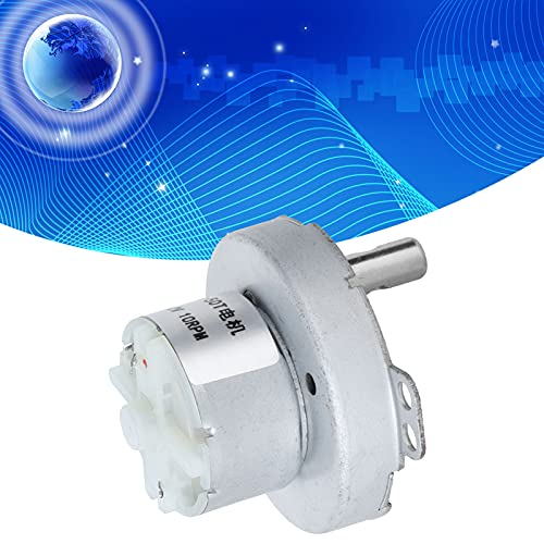 Accesorios de microtransmisión, motor de 10 rpm DC12V, micro motor de reducción para electrodomésticos, calentadores, ventiladores eléctricos para instrumentos de medición de alta precisión