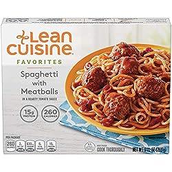 Lean Cuisine, Favorites, Spaghetti with Meatballs, 9.5 oz (Frozen)