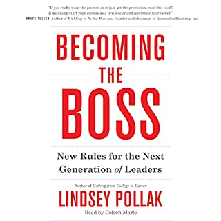 Becoming the Boss audiobook cover art