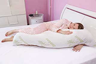 Bamboo Body Pillow Lumbar Support/Pregnancy Pillow. 54