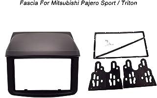 2 Din Fascia for Mitsubishi Pajero Sport Triton L200 Radio DVD Stereo Panel Dash Mounting Installation Trim Kit Face Frame...