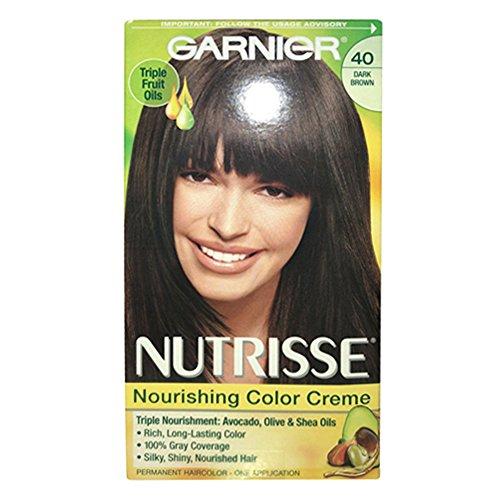 Garnier Nutrisse - Crema para el pelo, color marrón oscuro [40] 1 Ea