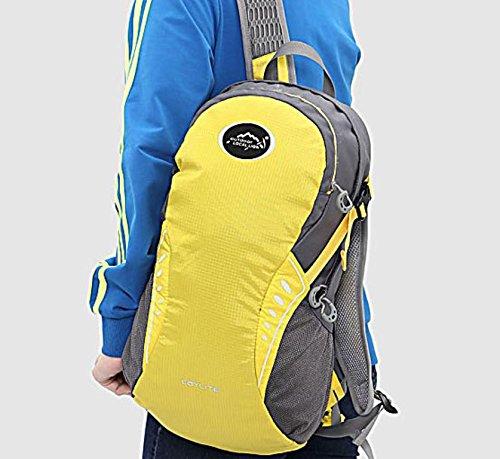 Extérieur élégant portable sac à dos sac à dos sac à dos de vélo , yellow