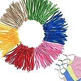 130 cordón elástico ajustable para máscaras — correa de máscara colorida — ideal p...