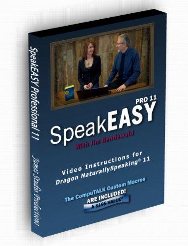 Dragon NaturallySpeaking training with SpeakEASY Professional 11