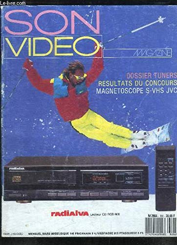Son Video Magazine N°202 : Dossier Tuners - Magnétoscope S-VHA JVC ...