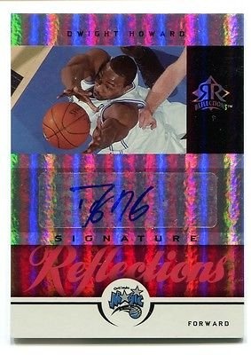 Dwight Howard UD Signature Reflections AUTO Rare SP #24/25 Basketball Card