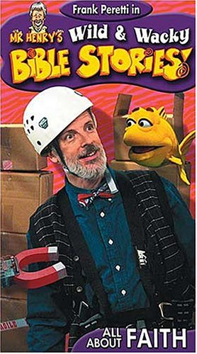 Mr. Henry's Wild & Wacky Bible Stories: All About Faith [VHS]