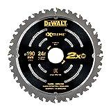 DEWALT DT4395-QZ - Hoja de sierra circular de demolición 190mm 24T EXTREME
